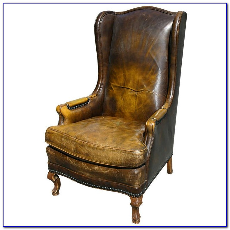 Leather Wingback Chair Covers