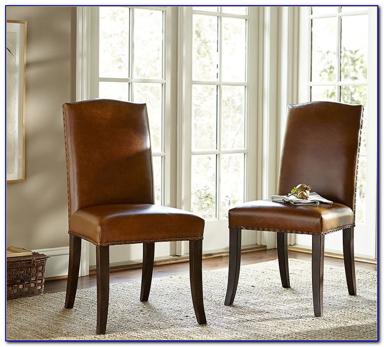 Leather Wingback Chair Pottery Barn