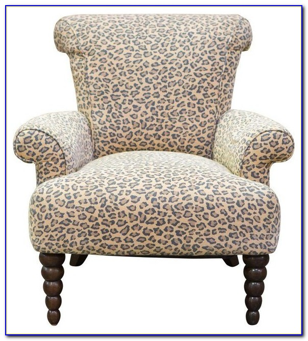 Leopard Print Accent Chairs