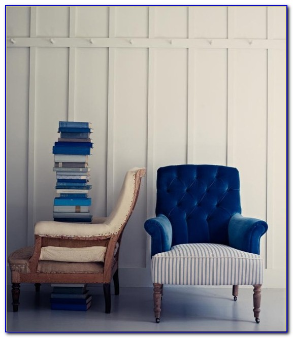 Light Blue Chair And A Half