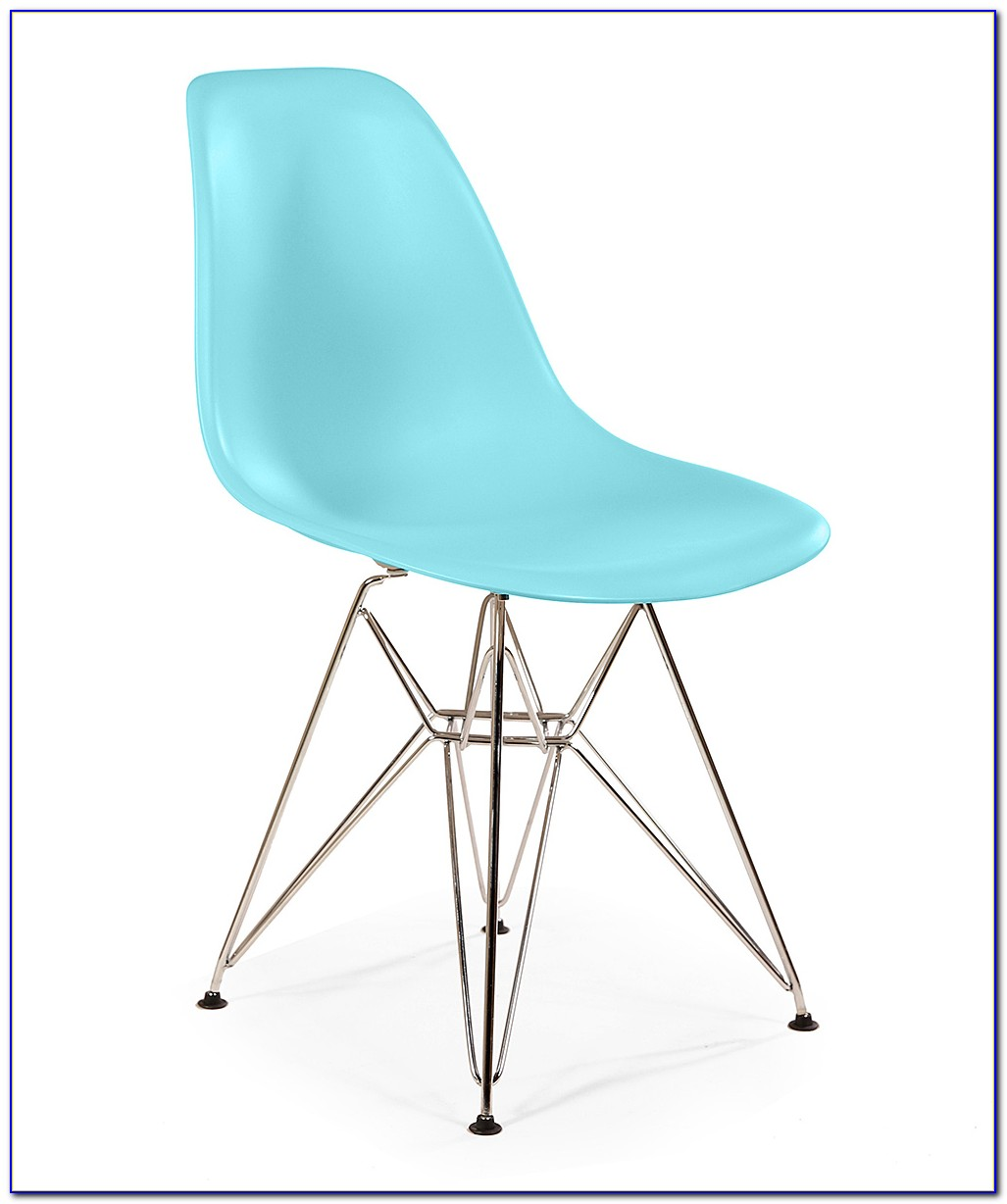 Light Blue Upholstered Dining Chairs