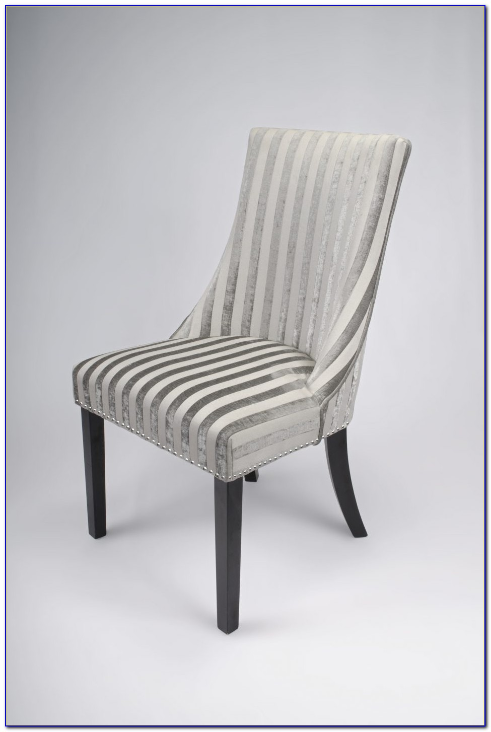 Light Grey Velvet Dining Chairs