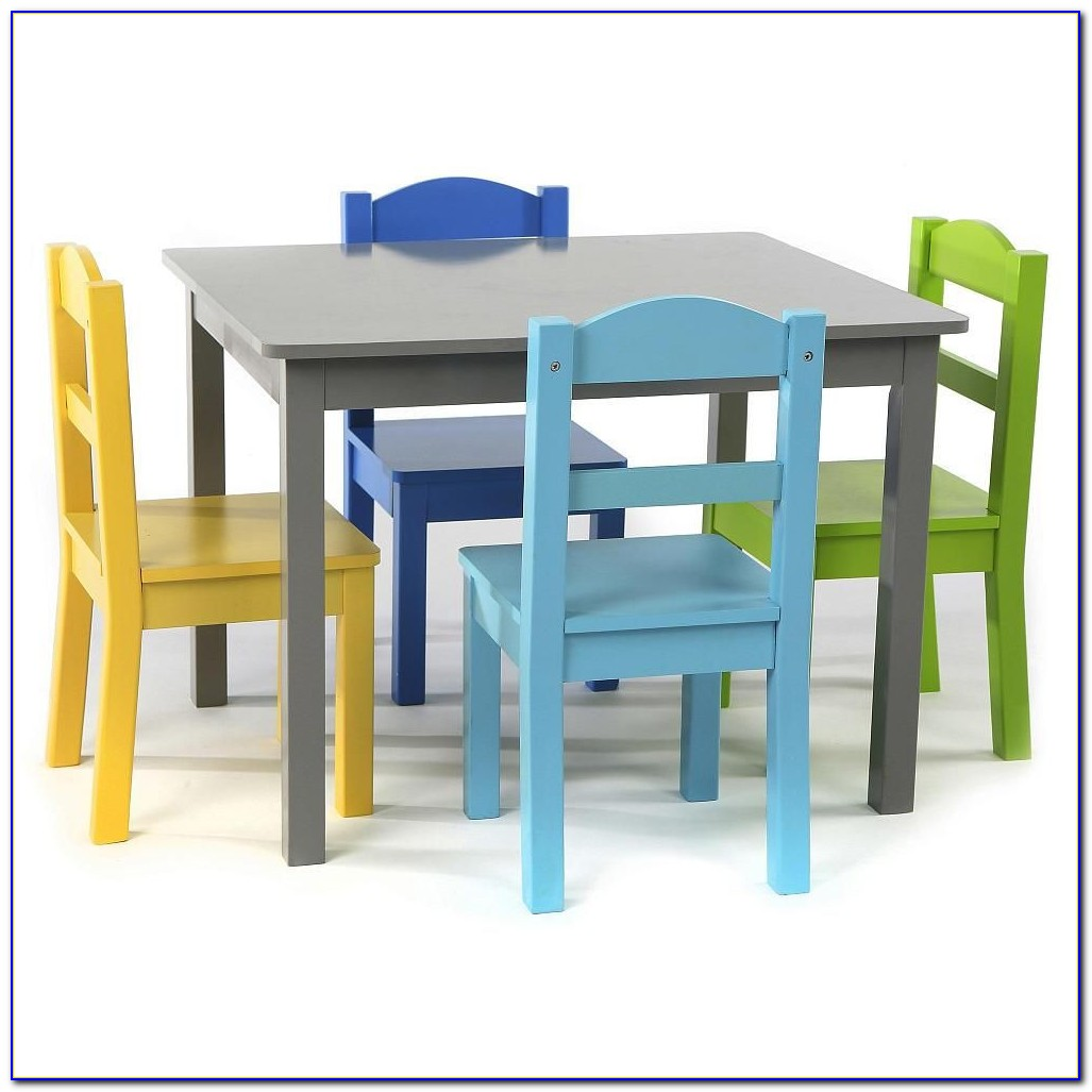 Little Girl Princess Table And Chairs
