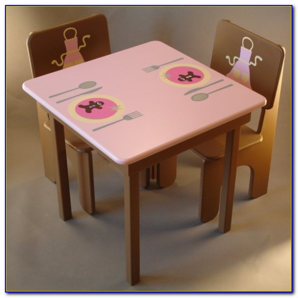 Little Girl Table And Chairs