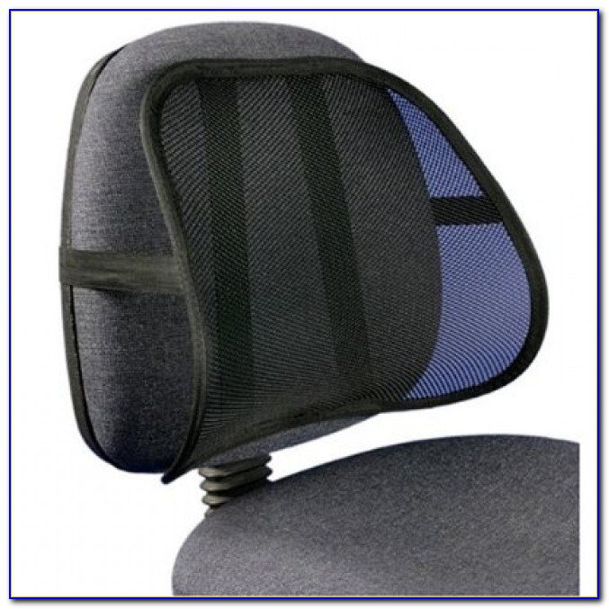 Lumbar Back Support Pillow For Office Chair