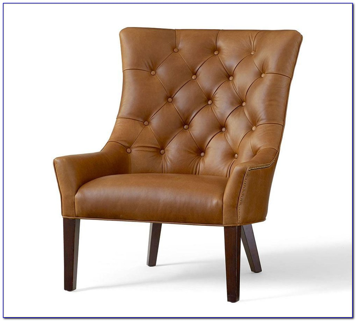 Manhattan Leather Chair Pottery Barn