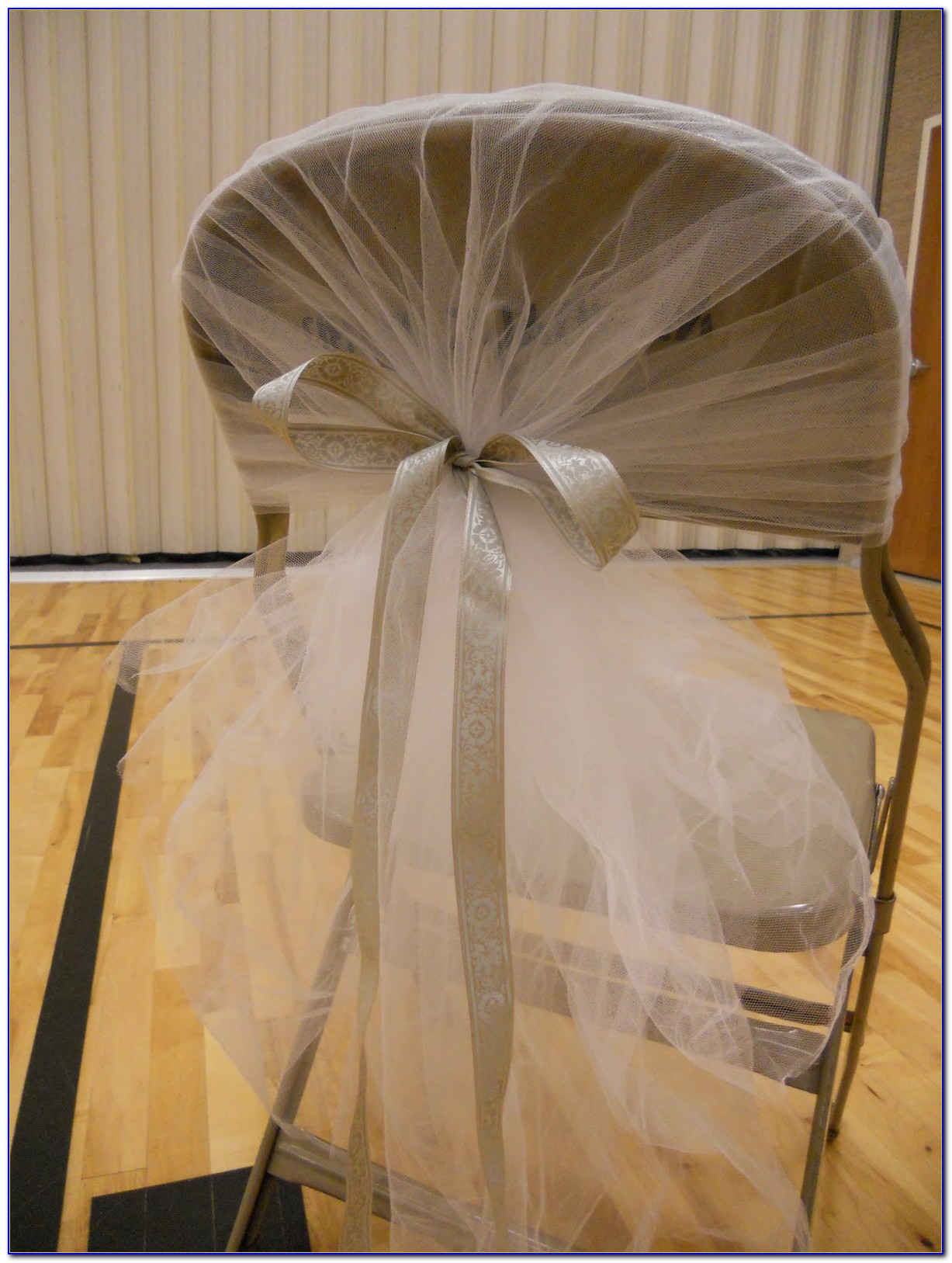 Metal Folding Chair Covers Wedding