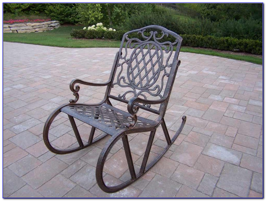 Metal Outdoor Rocking Chairs