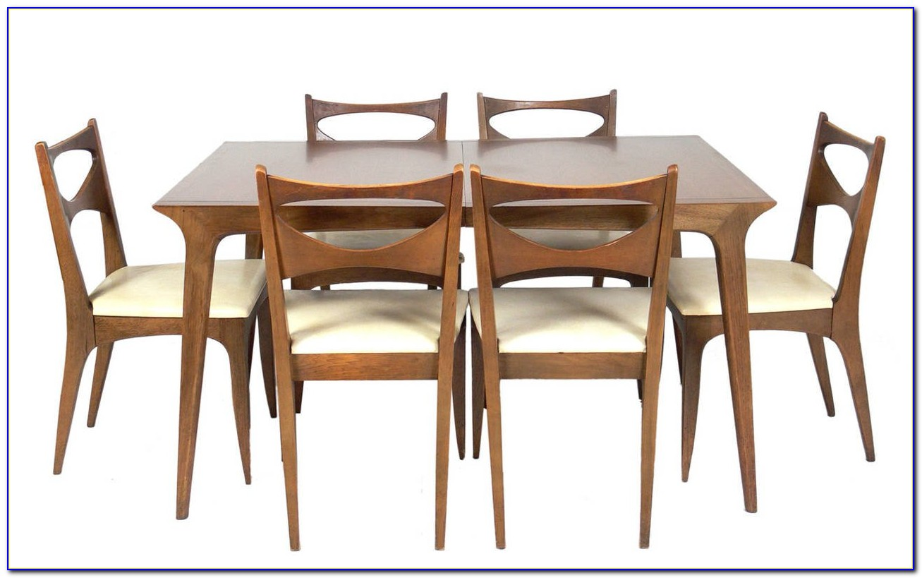 Mid Century Modern Dining Table Set