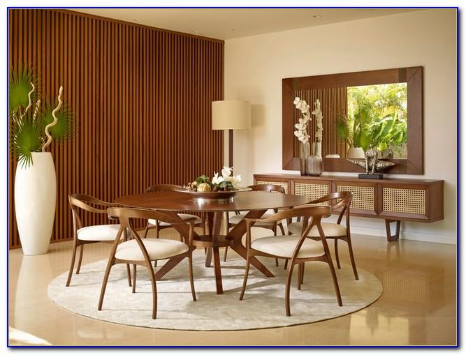 Mid Century Modern Teak Dining Room Set