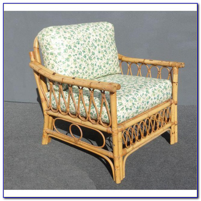 Mid Century Rattan Dining Chair