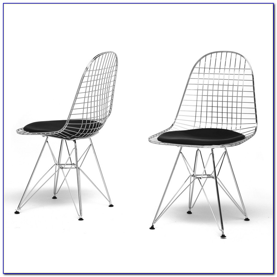Mid Century Wire Outdoor Chairs