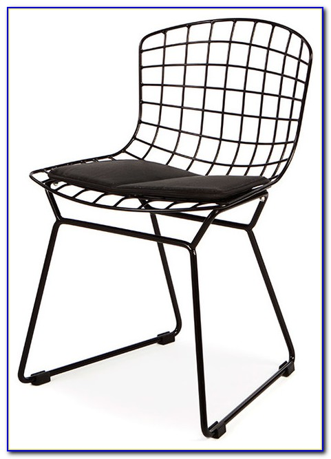 Mid Century Wire Patio Chairs