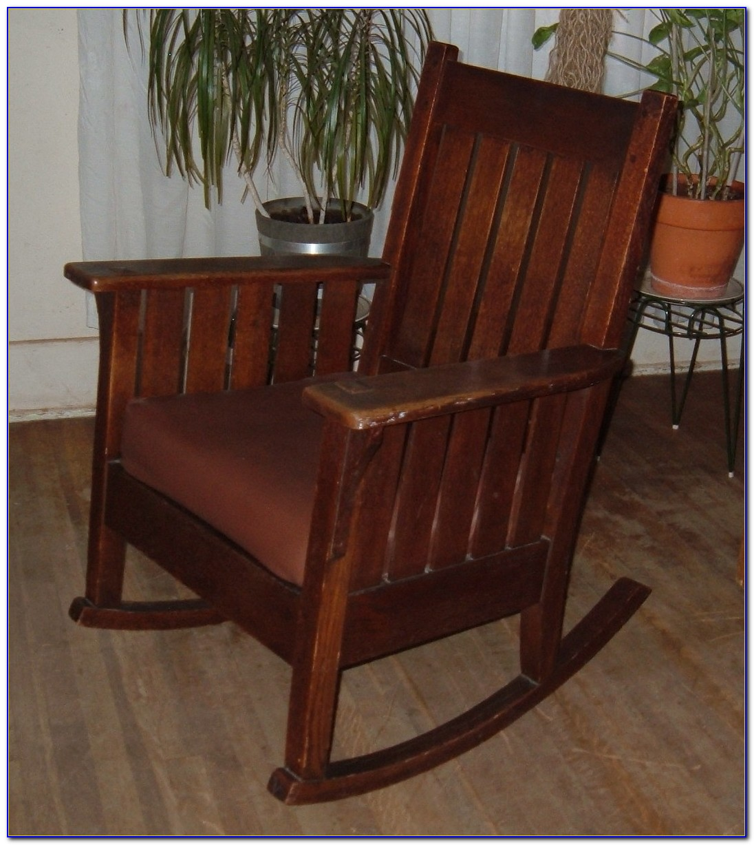 Mission Style Child's Rocking Chair