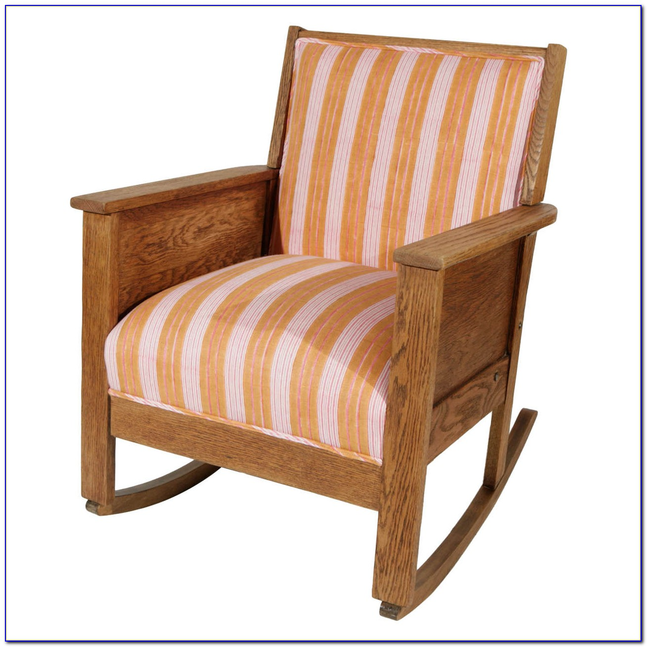 Mission Style Outdoor Rocking Chair