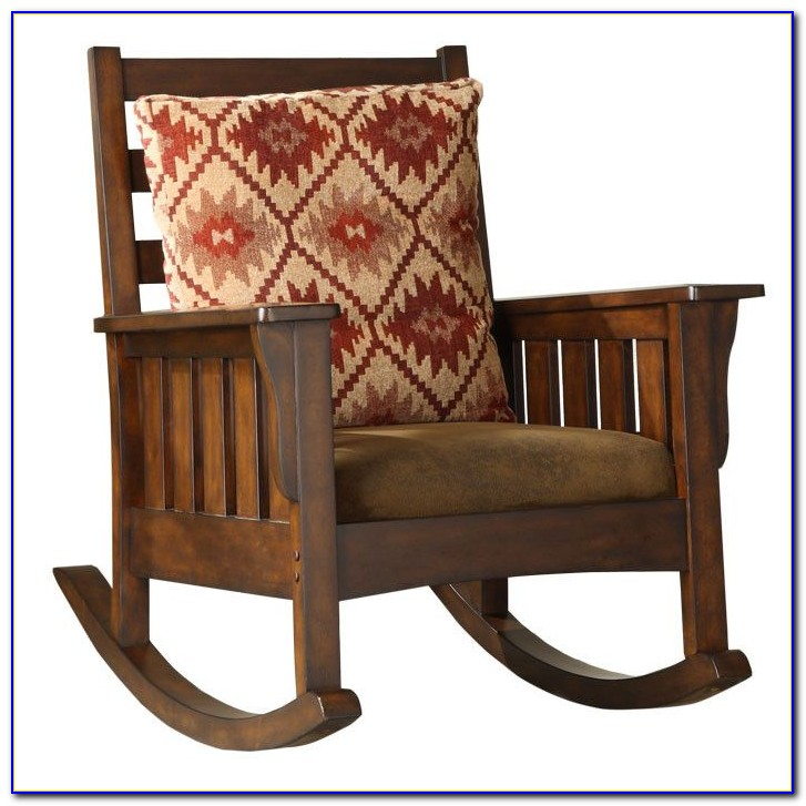 Mission Style Rocking Chair Antique