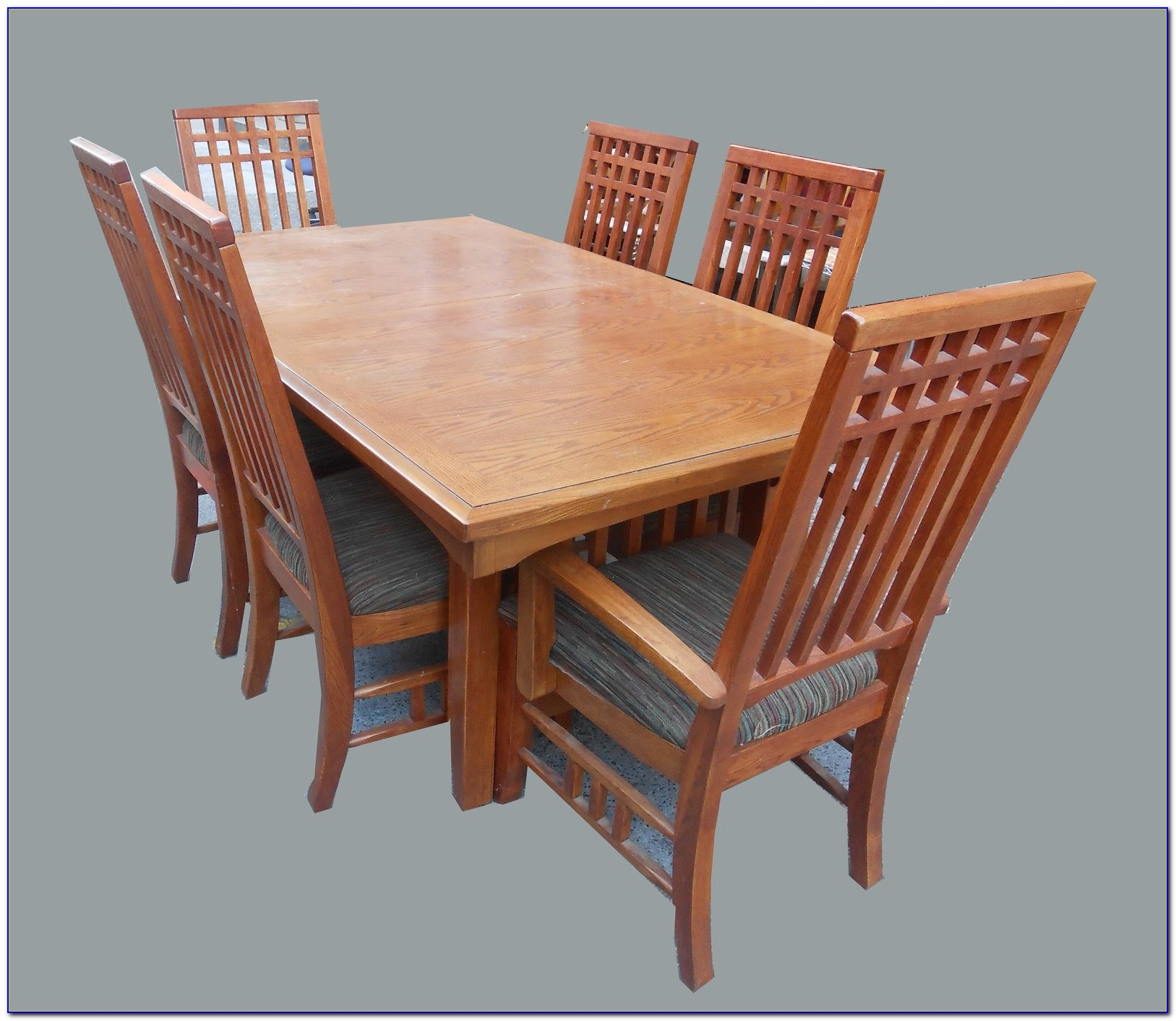 Mission Style Wood Dining Chairs