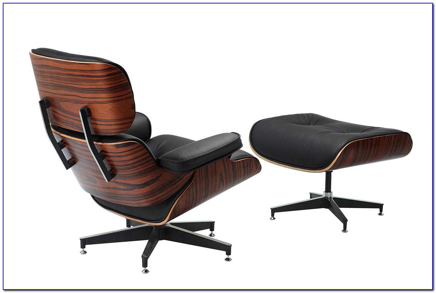 Modern Brown Leather Office Chair
