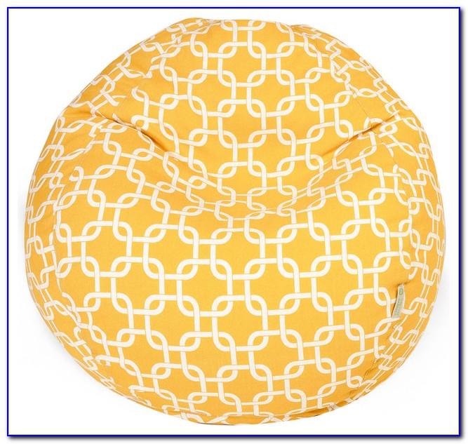 Mustard Yellow Bean Bag Chair