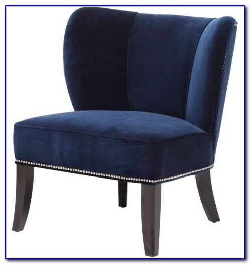 Navy Blue Accent Chair Canada