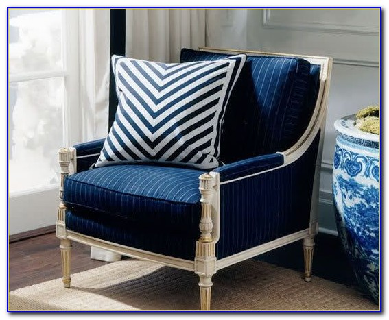 Navy Blue Accent Chair Uk