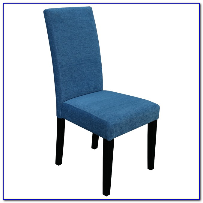 Navy Blue Upholstered Dining Chair