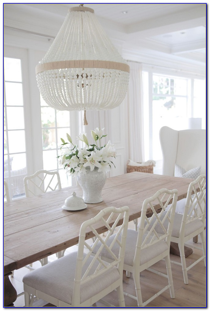 Off White Dining Room Table And Chairs
