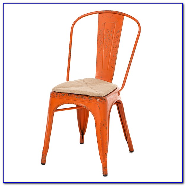 Orange Dining Room Chair Cushions