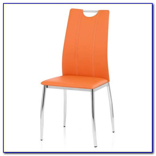 Orange Dining Table Chairs