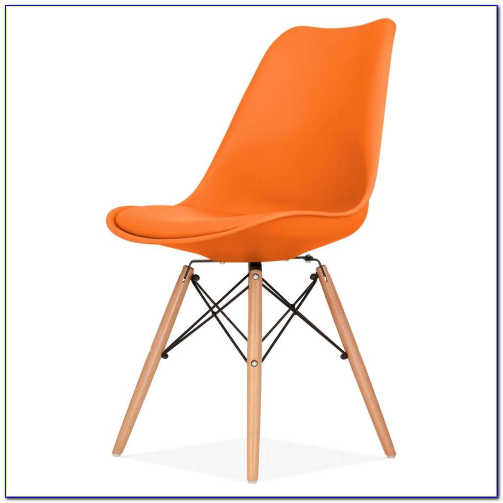 Orange Leather Dining Room Chairs