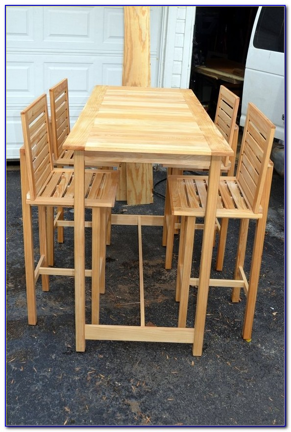 Outdoor Bar Height Table Sets