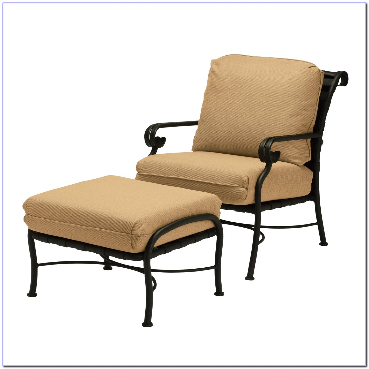 Outdoor Chair With Hidden Ottoman