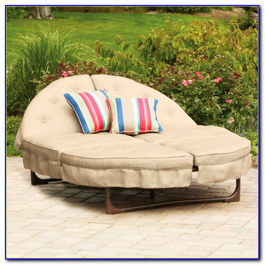 Outdoor Furniture Round Lounge Chair