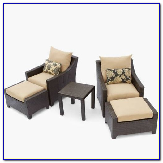 Outdoor Furniture With Ottoman