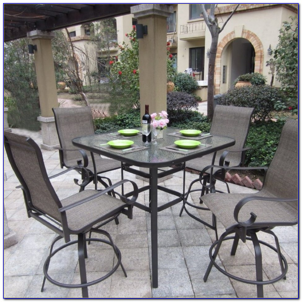Outdoor High Bar Table And Chairs