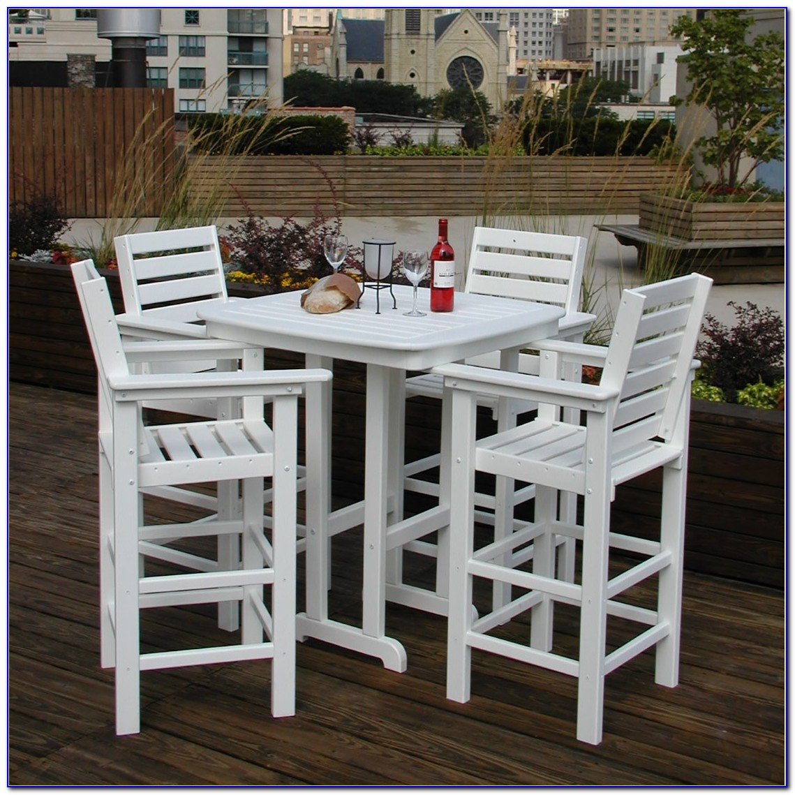 Outdoor High Top Table Set
