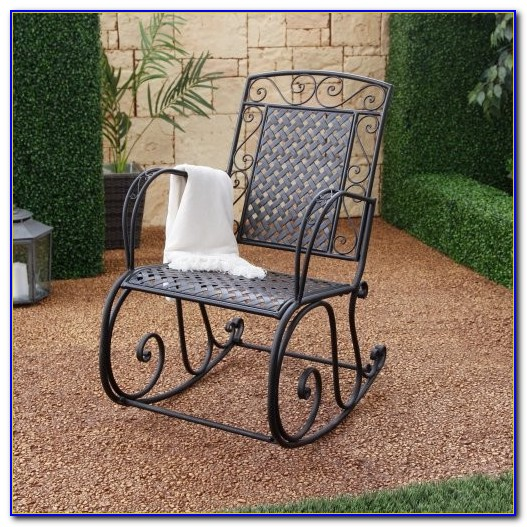 Outdoor Metal Rocking Chair Australia