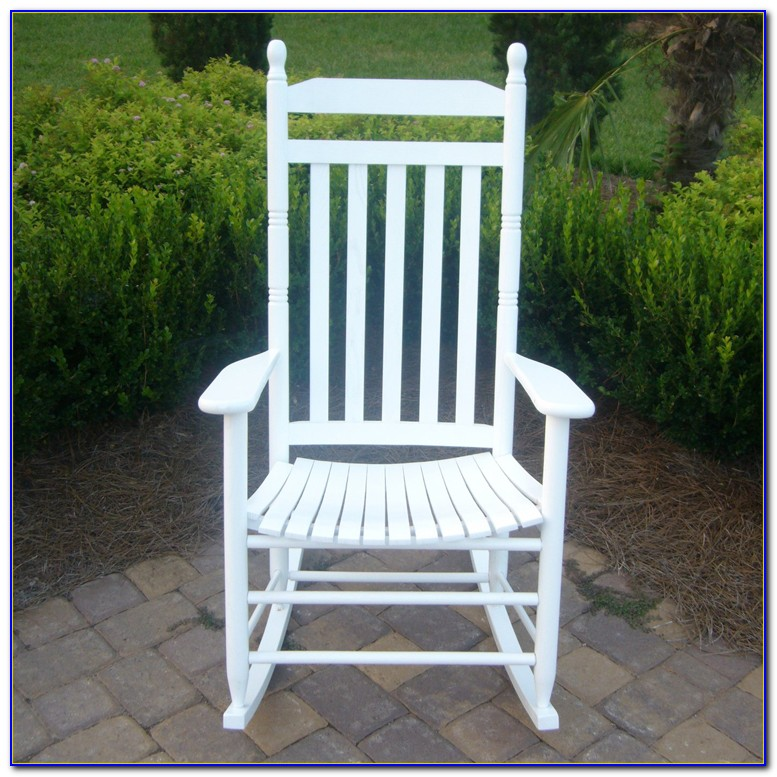 Outdoor White Rocking Chair Canada