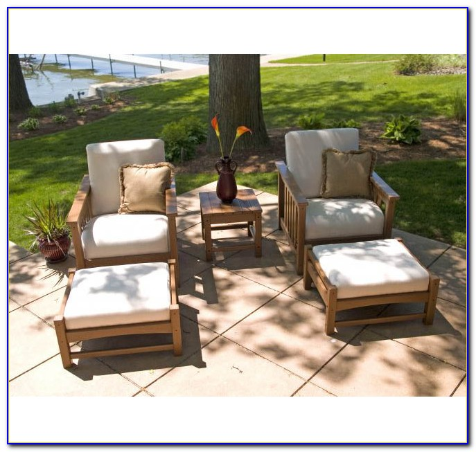 Patio Furniture Sets With Ottomans