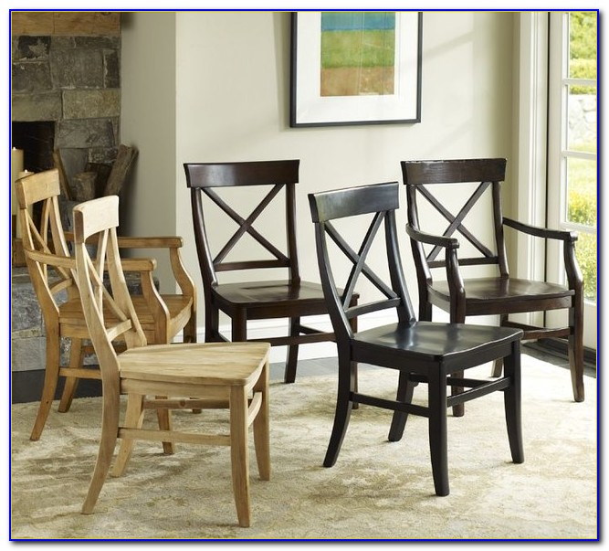 Pottery Barn Dining Table Chairs