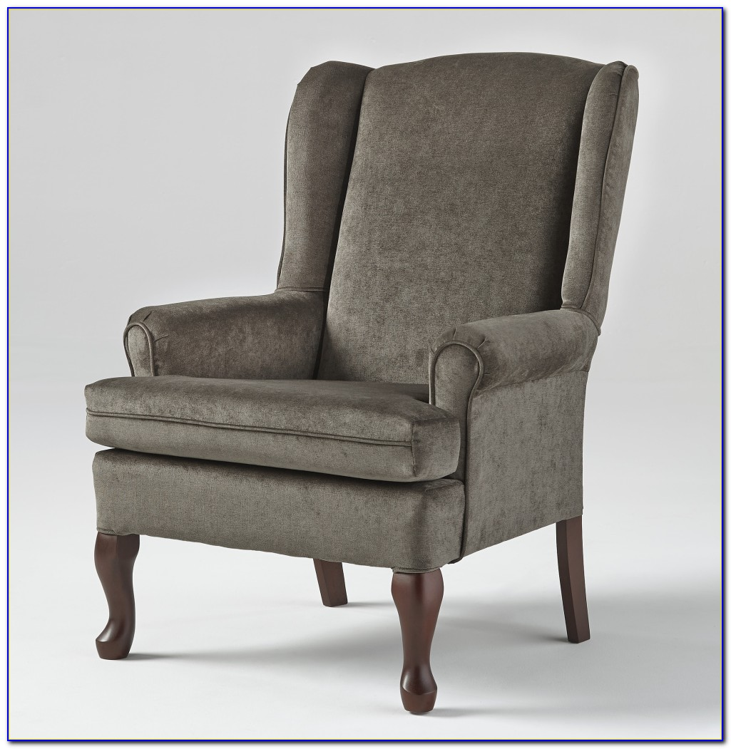 Queen Anne Wing Chair Ebay