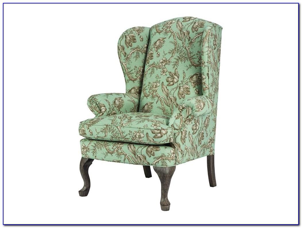 Queen Anne Wing Chair Recliner