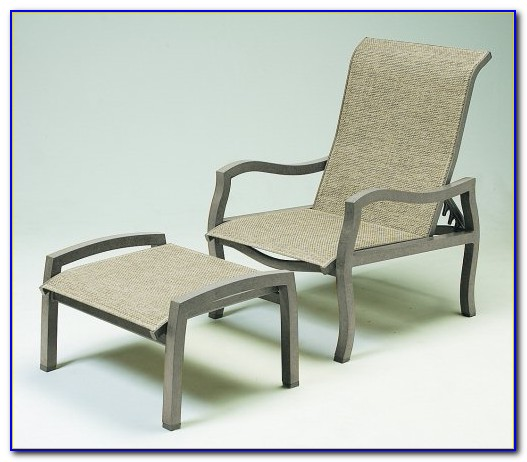 Reclining Patio Chairs With Ottomans
