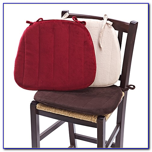Red Kitchen Chair Seat Cushions