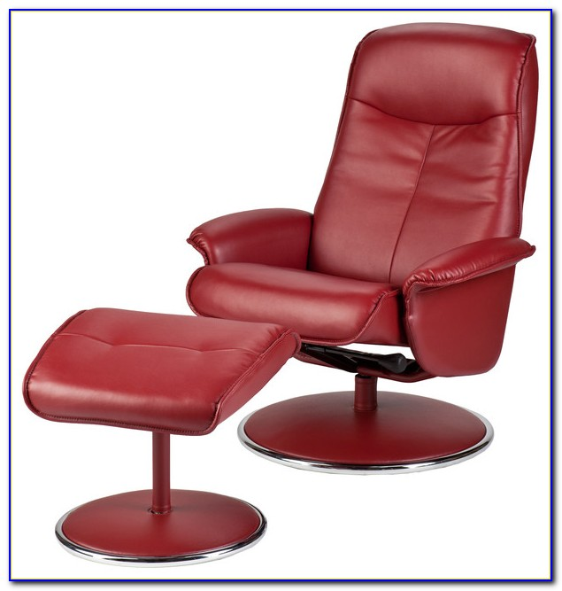 Red Leather Recliner Chair Ebay