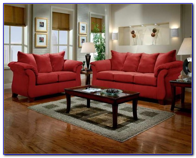 Red Living Room Furniture What Color Walls