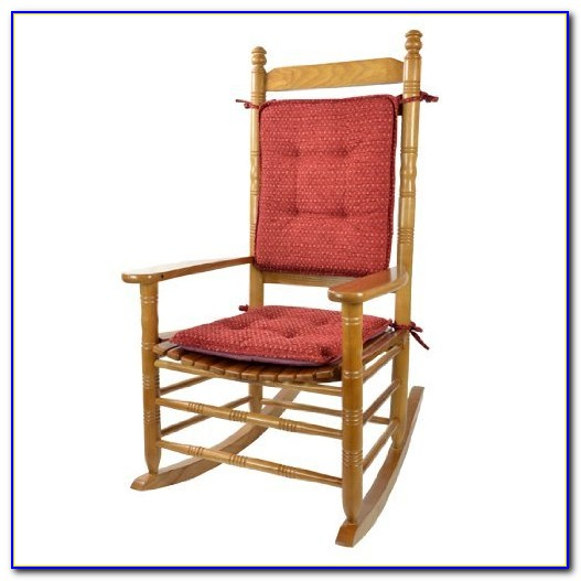 Red Outdoor Rocking Chair Cushions
