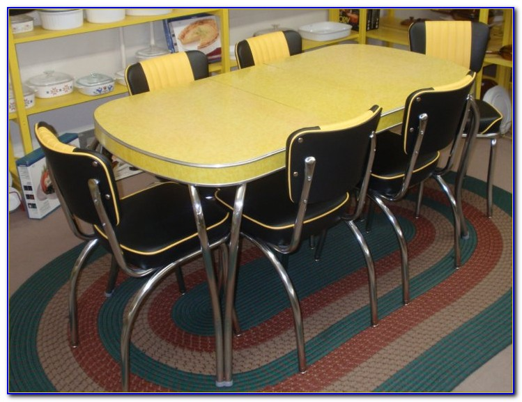 Retro Kitchen Table And Chairs Edmonton