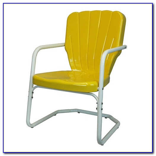 Retro Metal Lawn Chairs Made In Usa