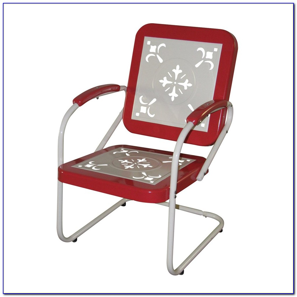 Retro Metal Outdoor Chairs